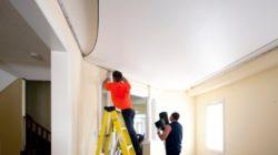 Особенности при монтаже подвесных натяжных потолков