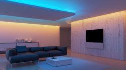 Светодиодная подсветка в интерьере
