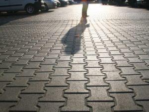 Тротуарная плитка на улицах города