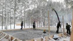 Особенности бетонирования в зимний период
