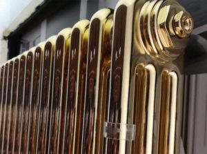 Золотой радиатор отопления
