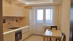 Дизайн потолка для кухни
