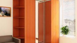 Преимущества угловых шкафов