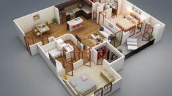 Определяем количество комнат в доме