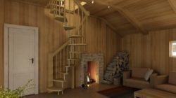 Обустраиваем загородный дом лестницами