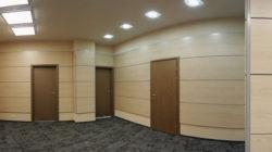 Покрытие стен и потолков ламинированными панелями