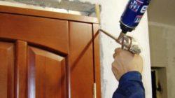 Замена межкомнатных дверей своими руками