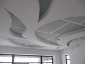 Многоуровневые криволинейные потолки