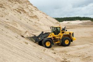Речной песок грейдер