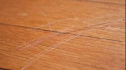 Как убрать царапины с ламината – способы и методы
