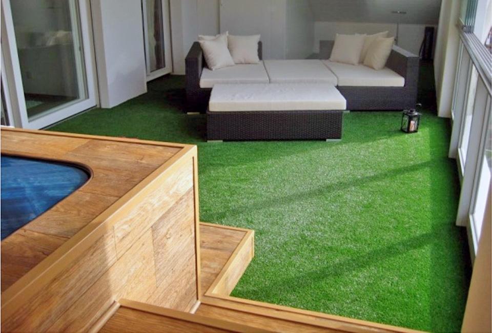 Искусственная трава напольное покрытие