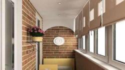 Варианты отделки балкона изнутри: особенности и характеристики материала