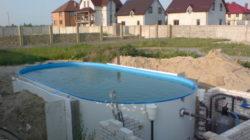 Этапы монтажа бассейна под ключ