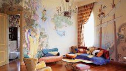 Преимущества декорирования интерьеров художественной росписью