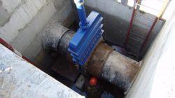 Задвижки и дисковые затворы в водопроводных сетях