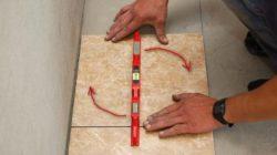 Советы по укладке керамической плитки