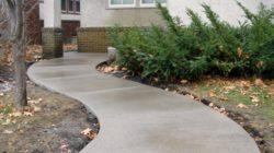 Дачная дорожка из бетона