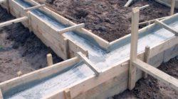 Фундаментная лента из бетона